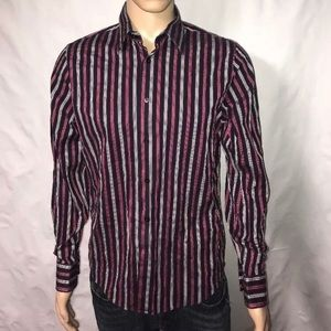 Express 1MX Medium Button Down Shirt